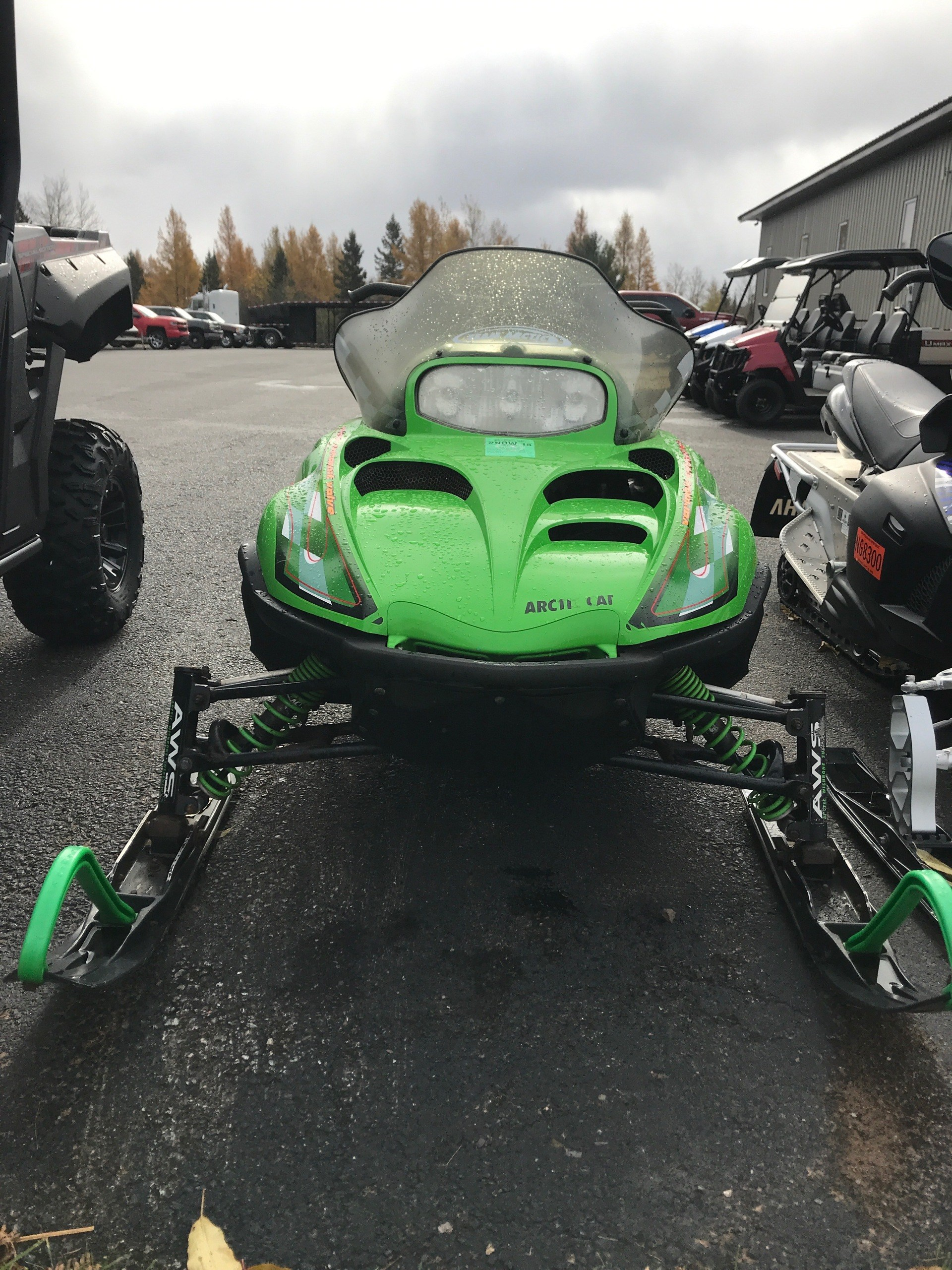 2001 Arctic Cat ZR® 800 in Ishpeming, Michigan - Photo 1