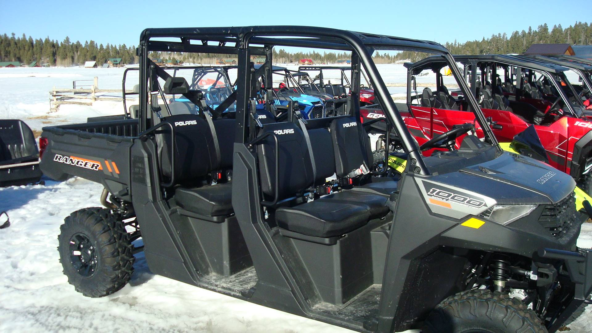 2020 Polaris Ranger Crew 1000 Premium in Duck Creek Village, Utah - Photo 1