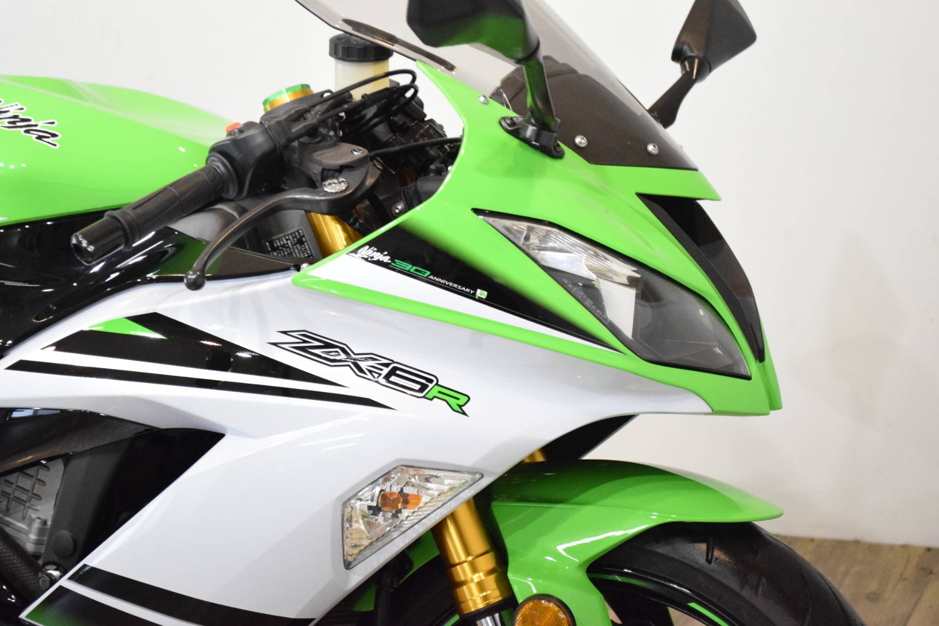 2015 Kawasaki Ninja® ZX™-6R ABS 30th Anniversary in Wauconda, Illinois - Photo 3