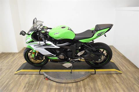 2015 Kawasaki Ninja® ZX™-6R ABS 30th Anniversary in Wauconda, Illinois - Photo 18