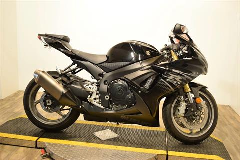 2011 Suzuki GSXR750 in Wauconda, Illinois