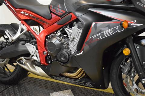 2016 Honda CBR650F ABS in Wauconda, Illinois