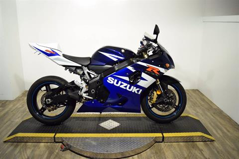 2004 Suzuki GSX-R600 in Wauconda, Illinois