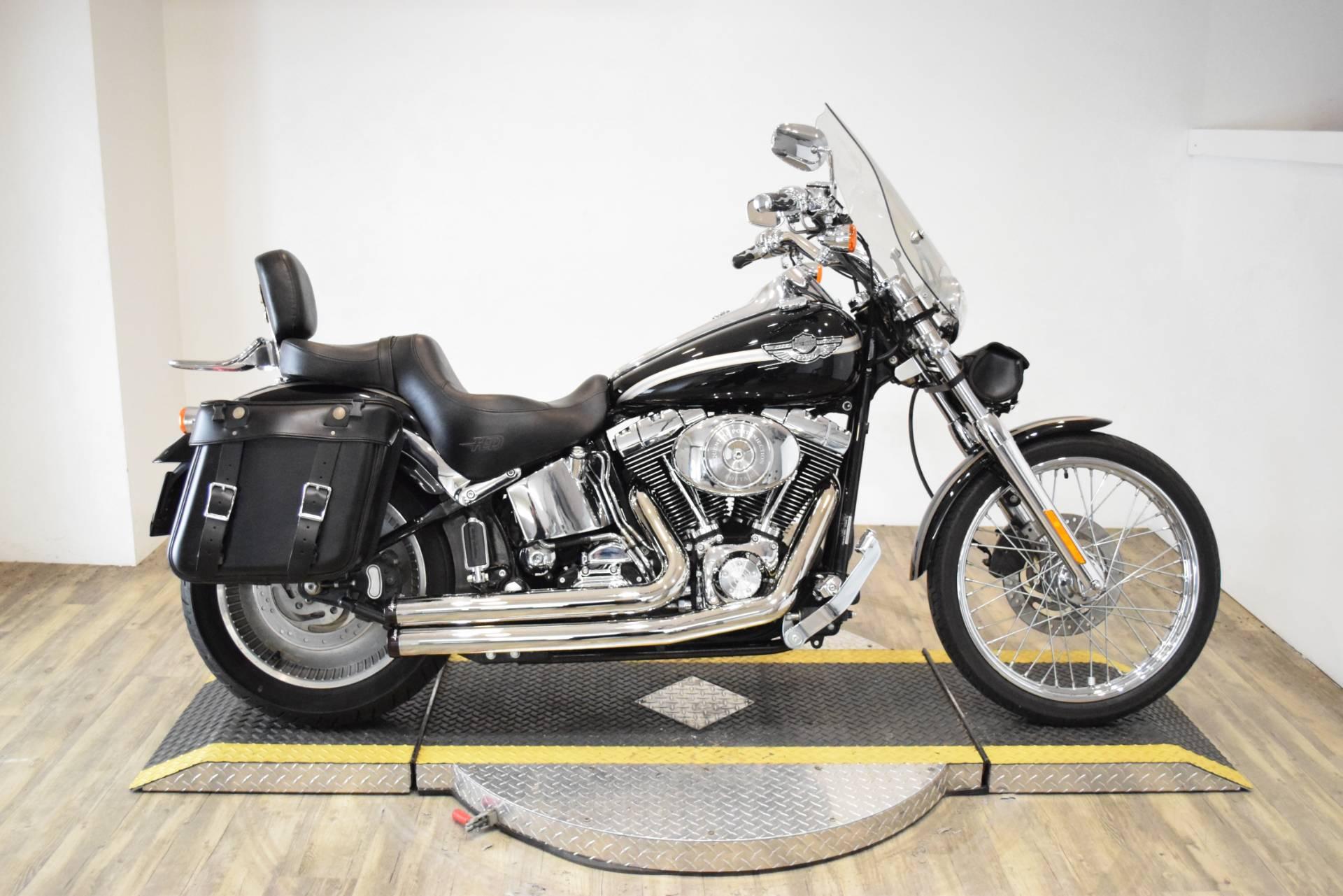 Harley Davidson Deuce >> 2003 Harley Davidson Fxstd Fxstdi Softail Deuce In Wauconda Illinois