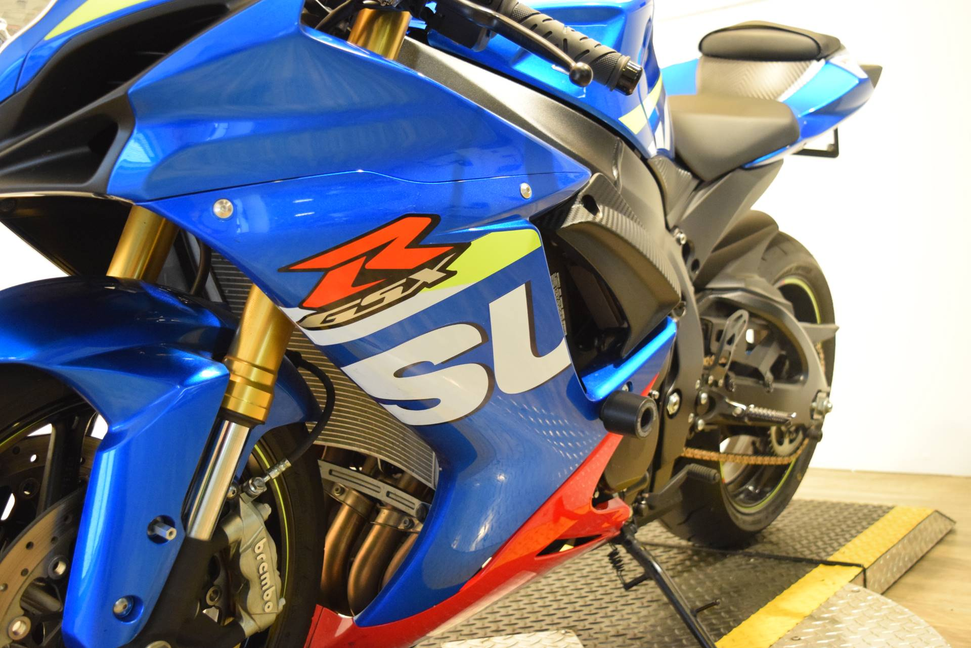 2016 Suzuki GSX-R750 in Wauconda, Illinois