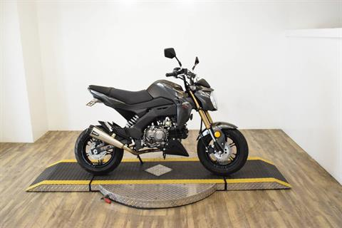 2018 Kawasaki Z125 Pro in Wauconda, Illinois