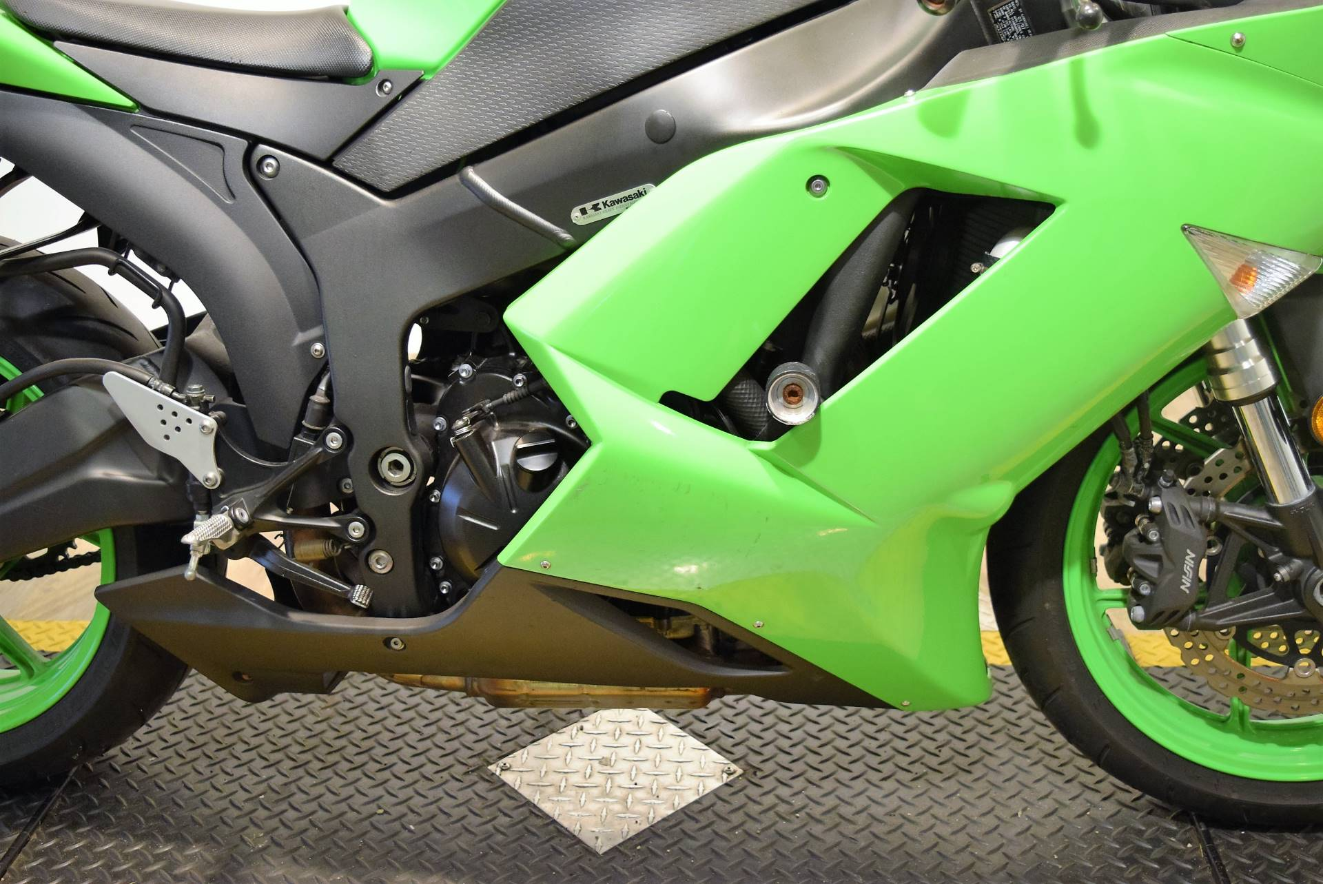 2007 Kawasaki Ninja® ZX™-6R in Wauconda, Illinois