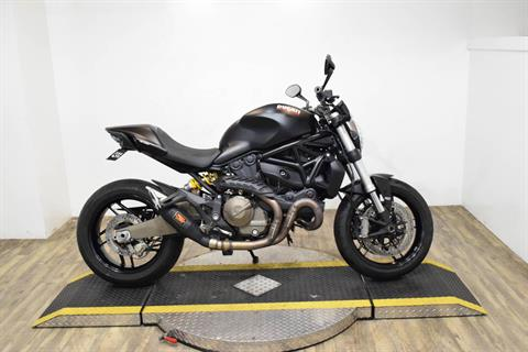 2016 Ducati Monster 821 Dark in Wauconda, Illinois
