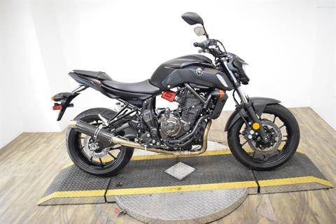 2019 Yamaha MT-07 in Wauconda, Illinois - Photo 1