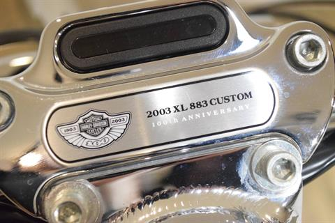 2003 Harley-Davidson XL 883C Sportster® Custom in Wauconda, Illinois - Photo 30