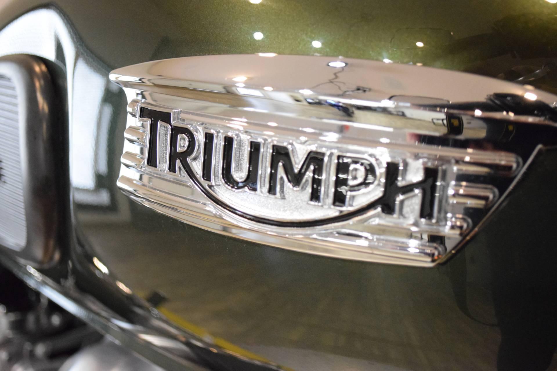 2016 Triumph Thruxton 5