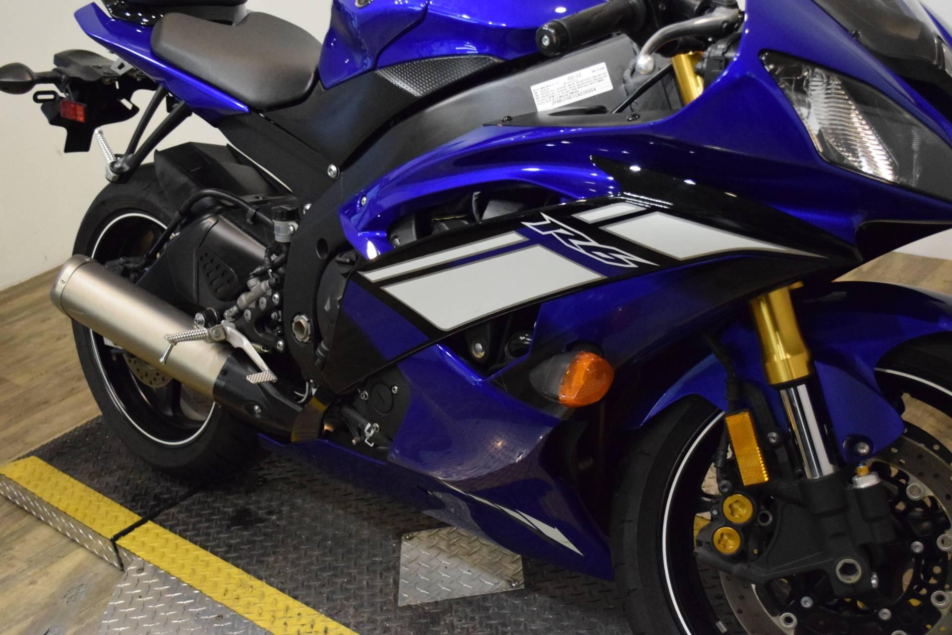 2012 Yamaha YZF R6 4
