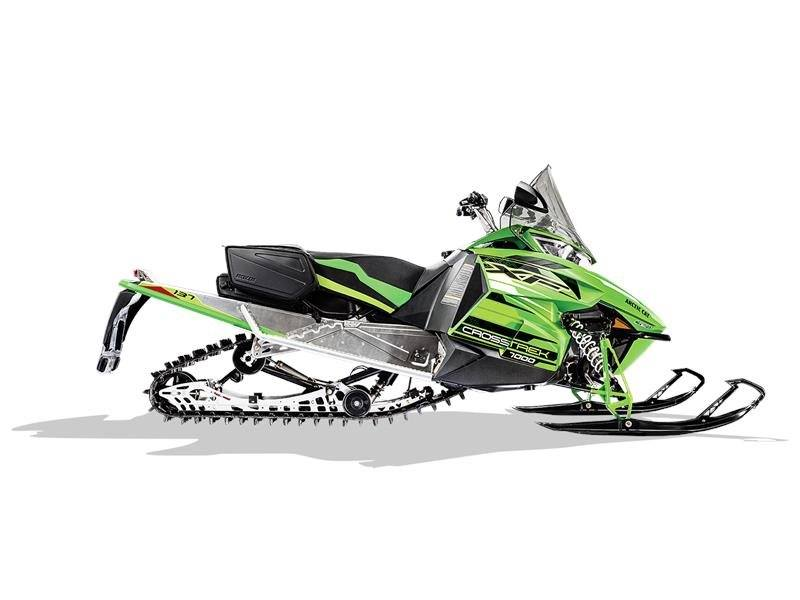 2017 Arctic Cat XF 7000 CrossTrek 137 in Findlay, Ohio