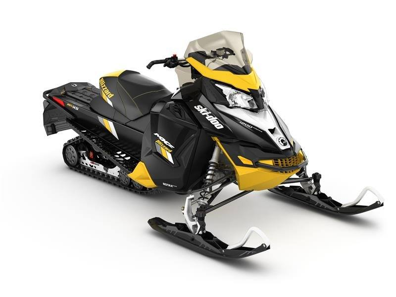 2017 Ski-Doo MXZ Blizzard 1200 4-TEC in Findlay, Ohio
