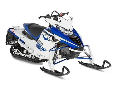 2016 Yamaha SRViper X-TX SE White / Yamaha Blue in Findlay, Ohio