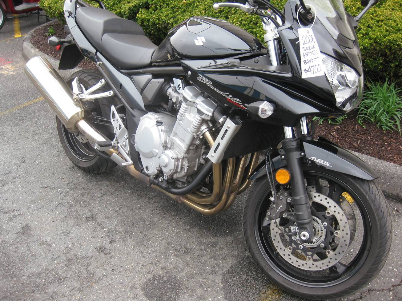 2008 Suzuki Bandit 1250S in Northampton, Massachusetts