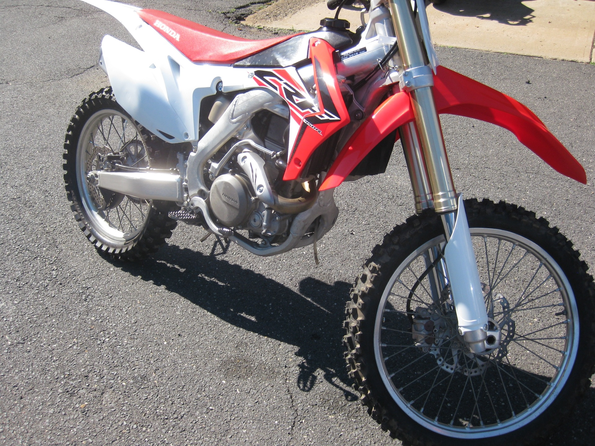 2016 Honda CRF450R in Northampton, Massachusetts