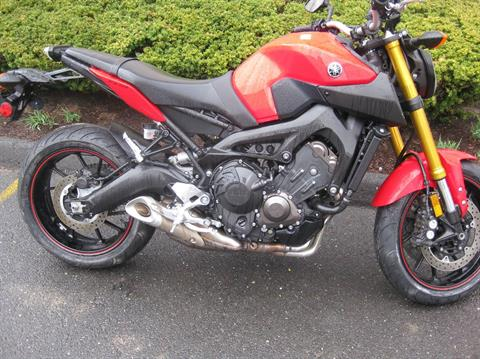 2014 Yamaha FZ-09 in Northampton, Massachusetts