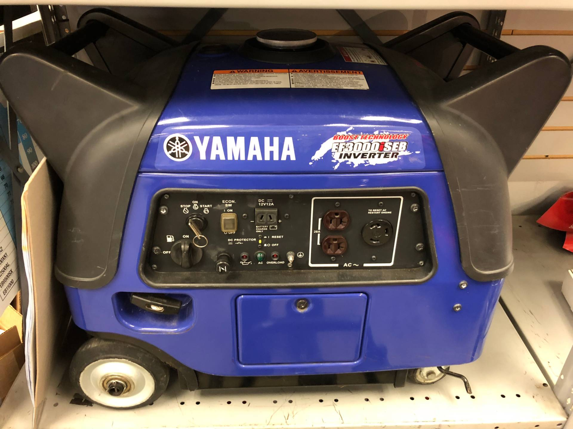 2015 Yamaha Inverter EF3000iSEB in Northampton, Massachusetts