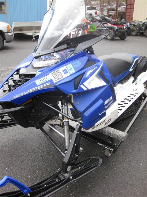 2014 Yamaha SR Viper™ LTX SE in Northampton, Massachusetts