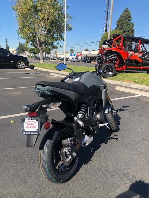 2020 Kawasaki Z125 in Orange, California - Photo 4