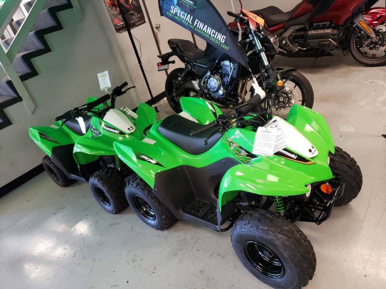 2019 Kawasaki KFX50 in Orange, California