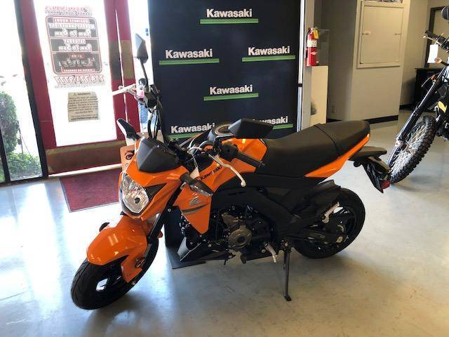 2019 Kawasaki Z125 in Orange, California - Photo 2