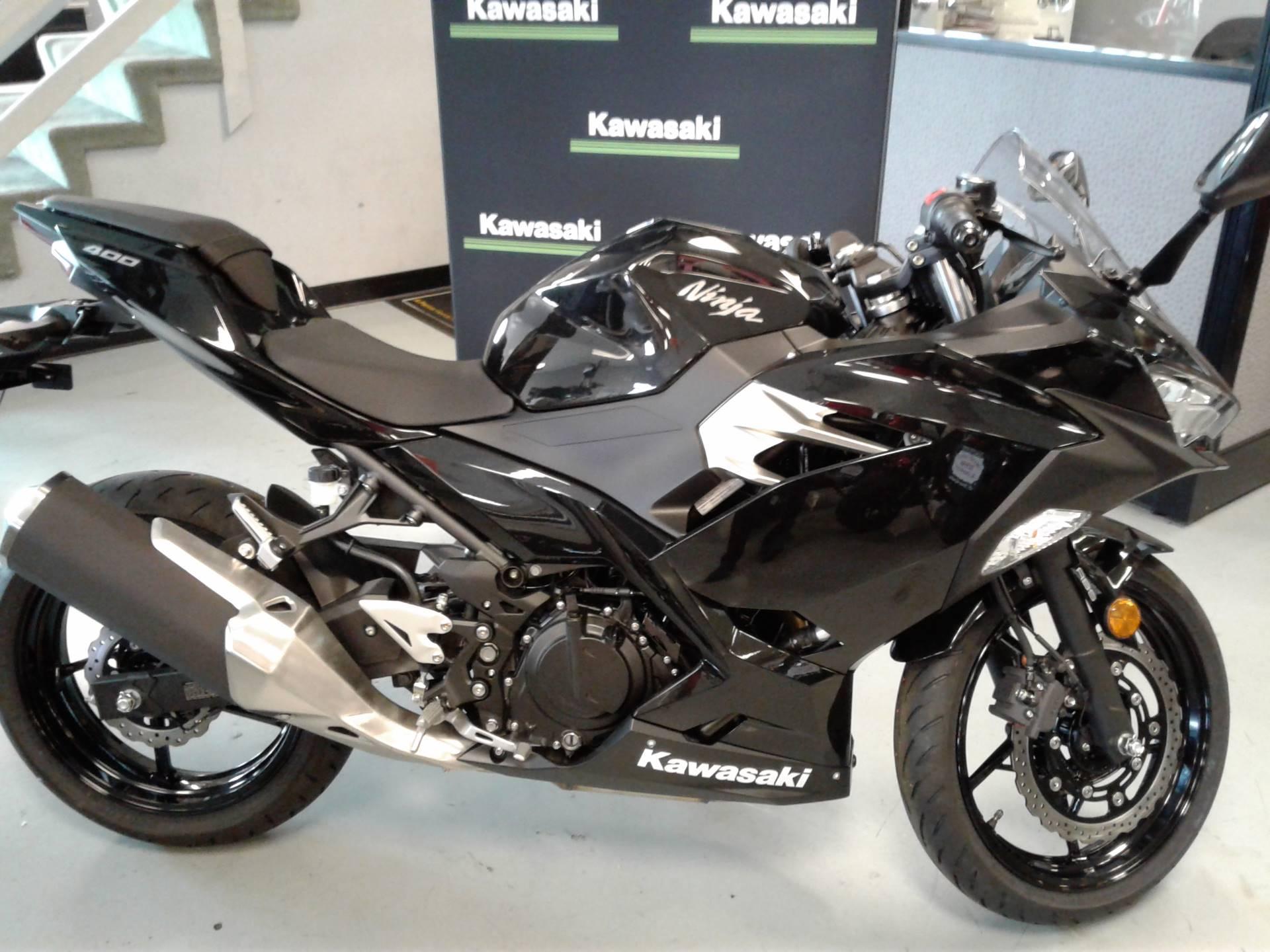 New 2018 Kawasaki Ninja 400 ABS Motorcycles in Orange, CA | Stock ...