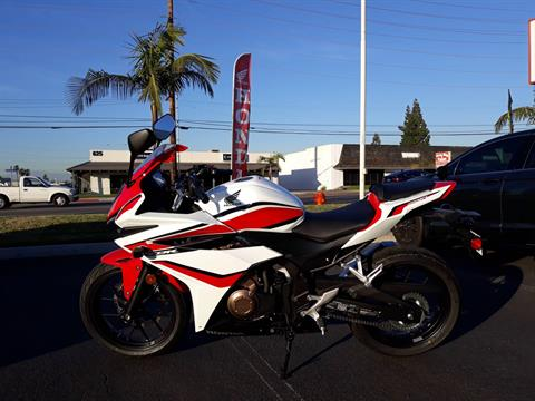2018 Honda CBR500R in Orange, California