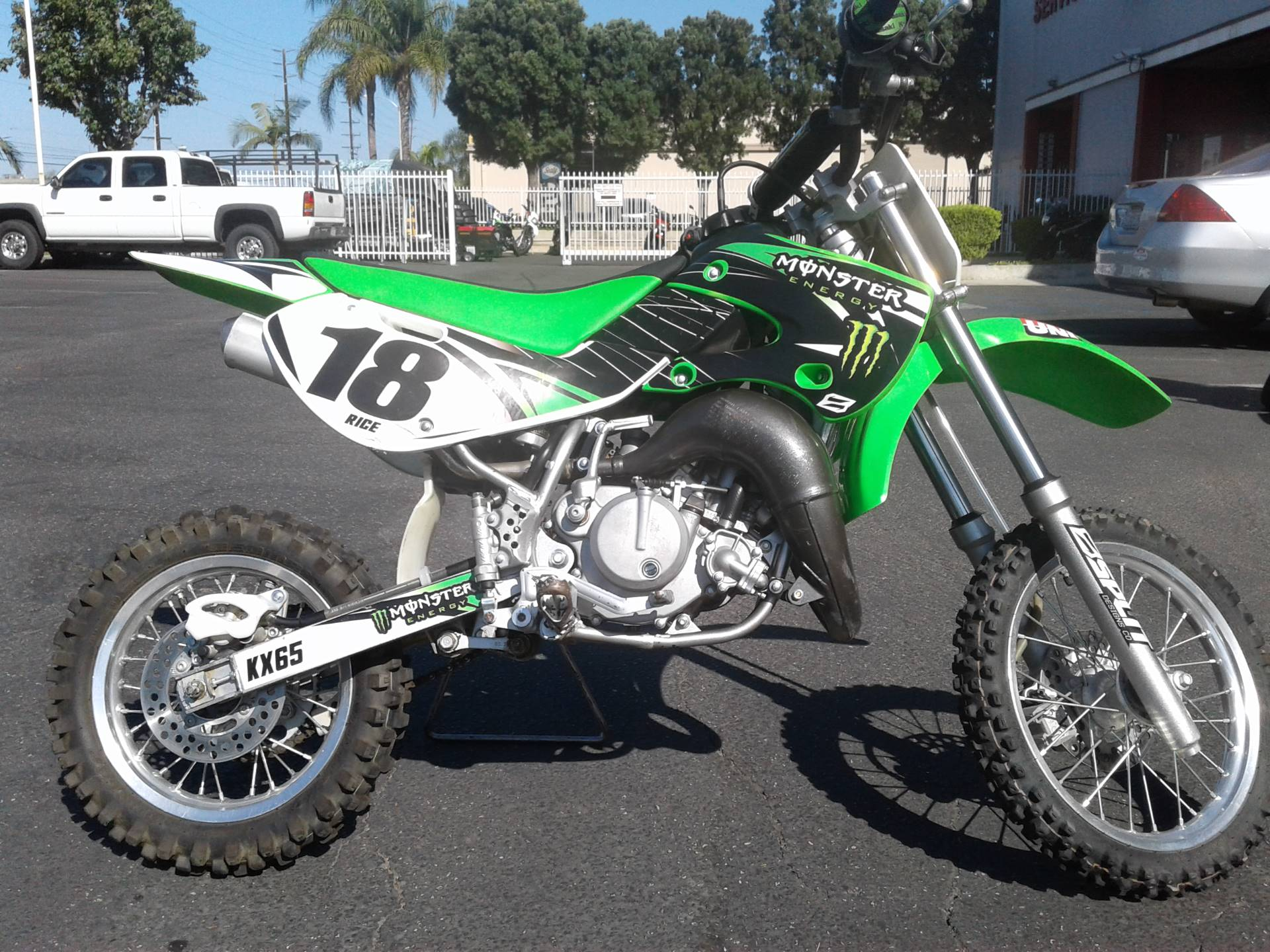 2007 Kawasaki KX65 in Orange, California
