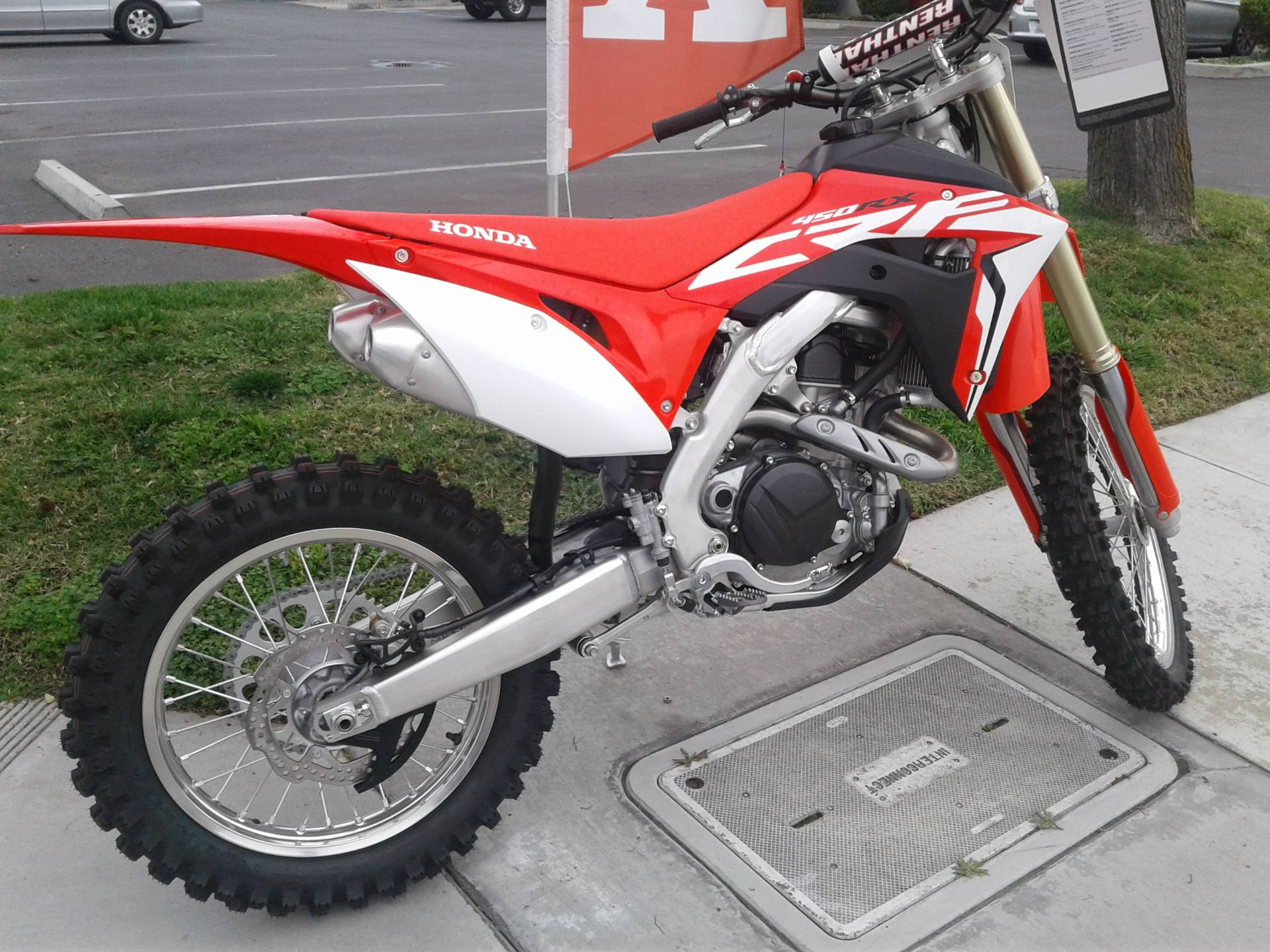 2018 Honda CRF450RX in Orange, California