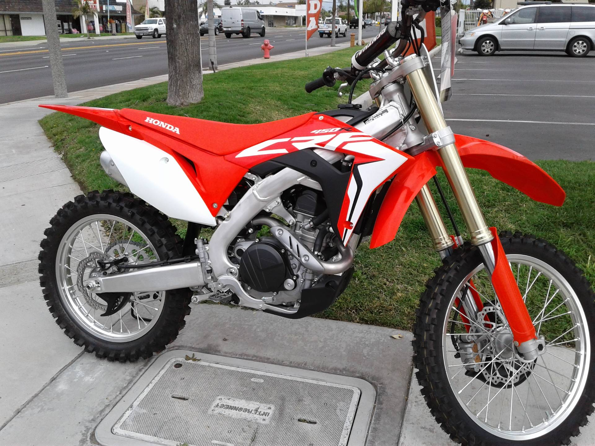 New 2018 Honda CRF450R Motorcycles in Orange, CA | Stock Number: 12027D