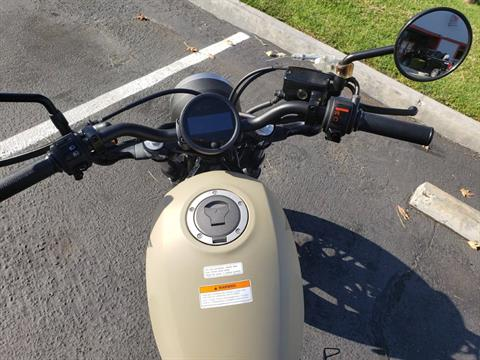2019 Honda REBEL 500 ABS in Orange, California - Photo 3