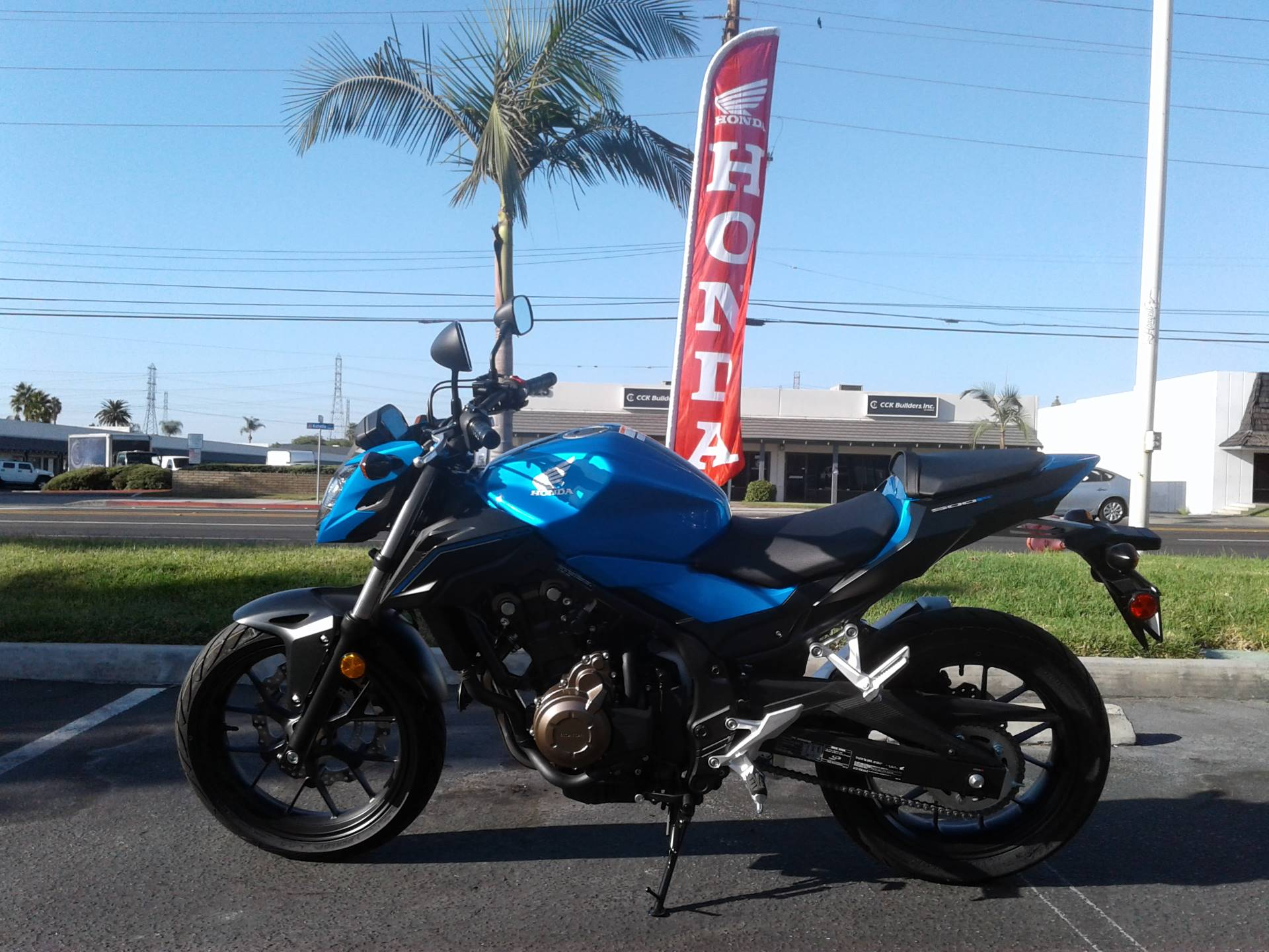 2018 Honda CB500F for sale 43378