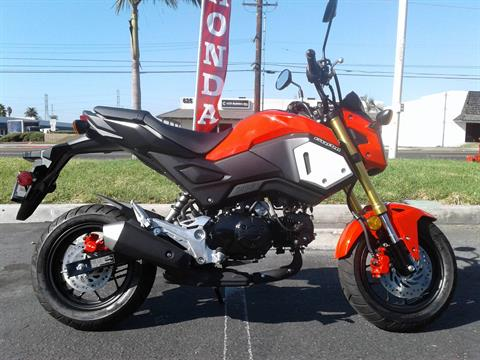 2019 Honda GROM in Orange, California - Photo 1