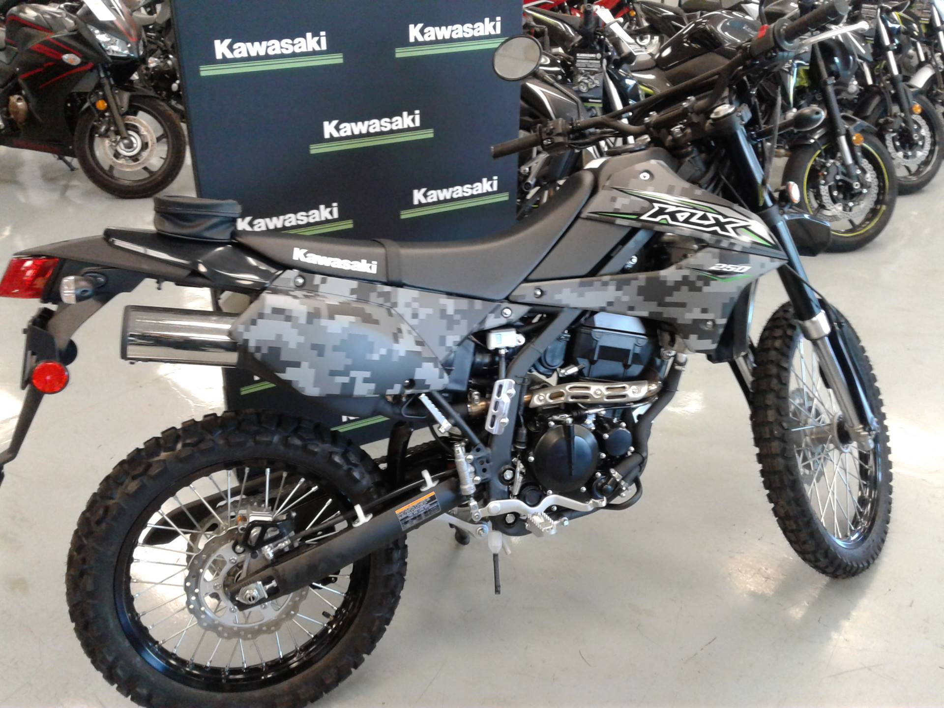 2018 Kawasaki KLX 250 Camo in Orange, California