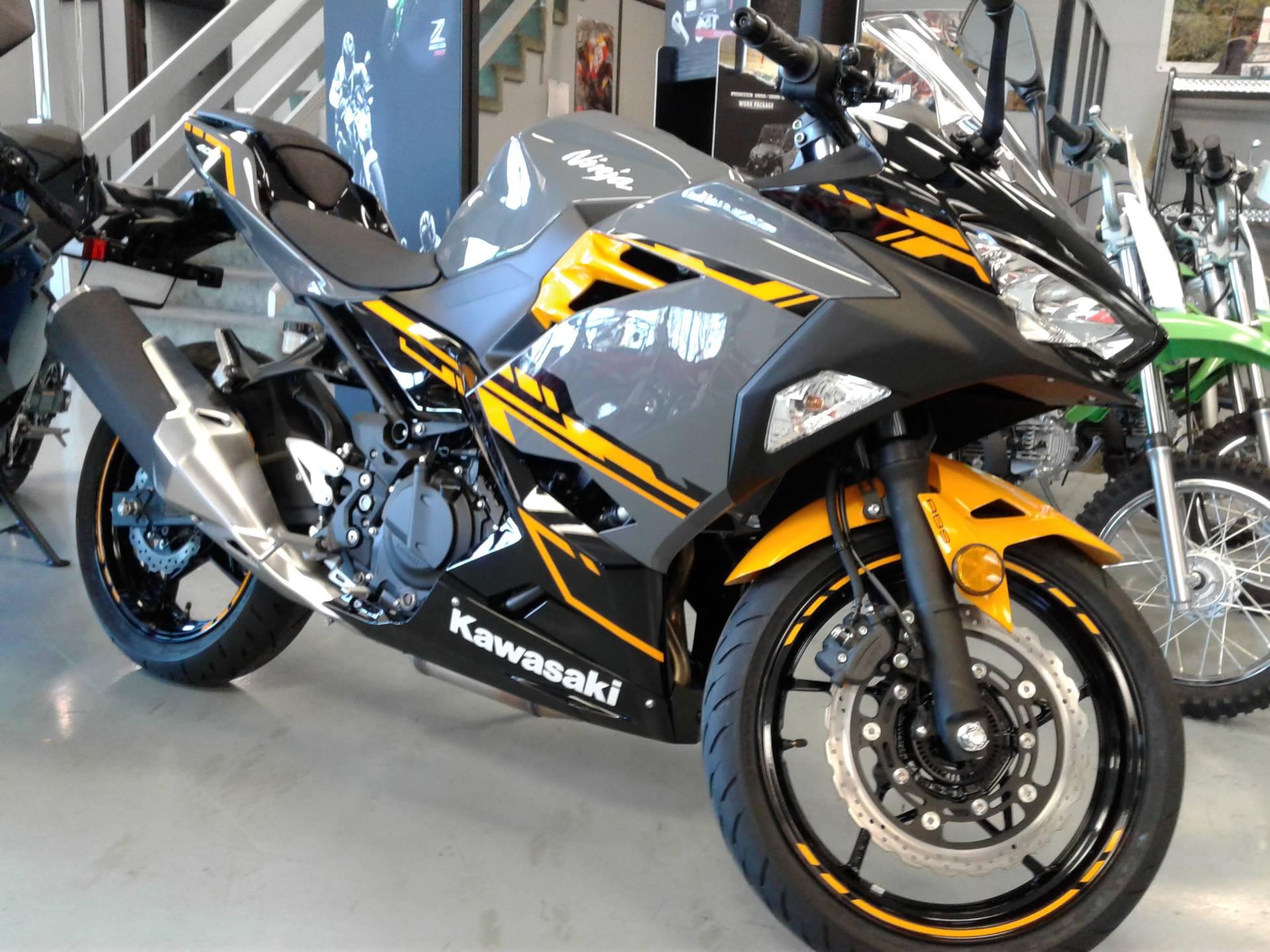 Honda Pre Owned >> New 2018 Kawasaki Ninja 400 ABS Motorcycles in Orange, CA | Stock Number: 12064M