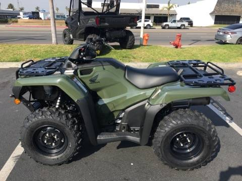 2021 Honda FOURTRAX RANCHER in Orange, California - Photo 2
