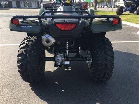2021 Honda FOURTRAX RANCHER in Orange, California - Photo 3