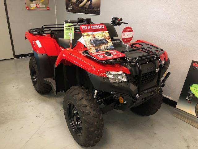 2020 Honda FourTrax Rancher 4x4 Automatic DCT IRS EPS in Orange, California - Photo 2