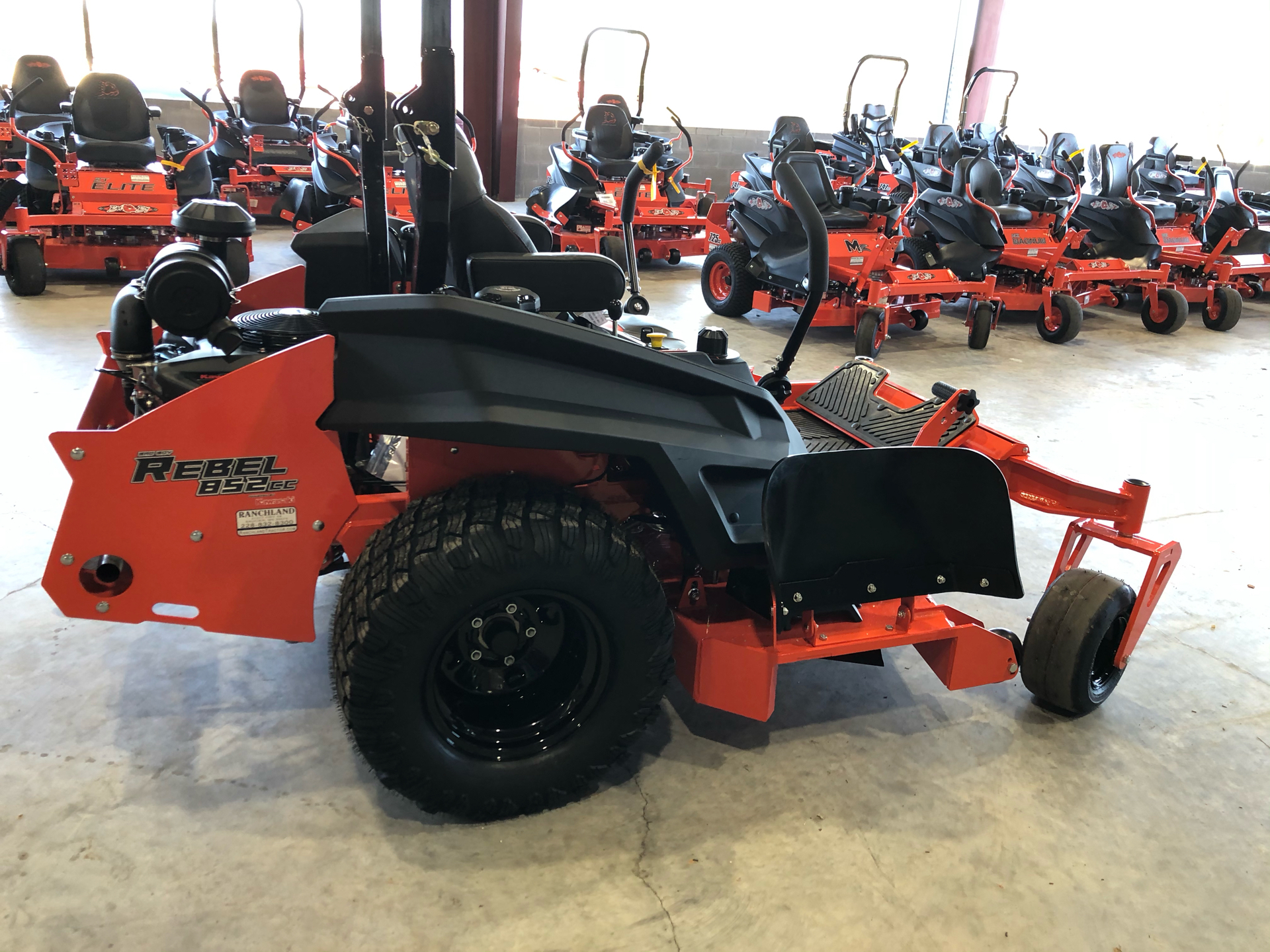 "2021 Bad Boy Mowers Rebel 54"" w/ FX850 Kawi in Saucier, Mississippi - Photo 12"