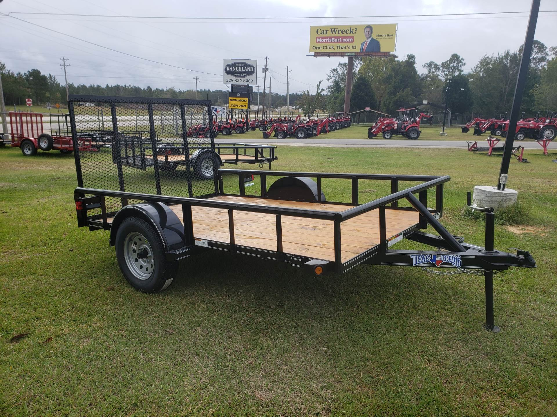 2019 Texas Bragg 6x10P with 4' Gate in Saucier, Mississippi