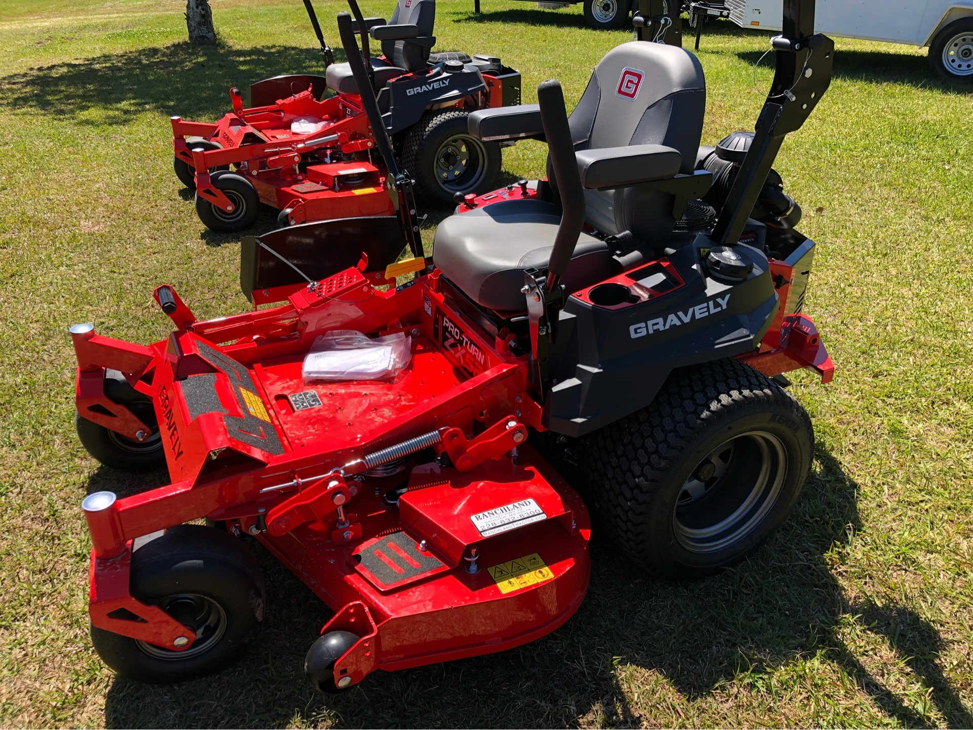 2019 Gravely USA Pro-Turn ZX 52 in. Kawasaki FX691V 22 hp in Saucier, Mississippi - Photo 4