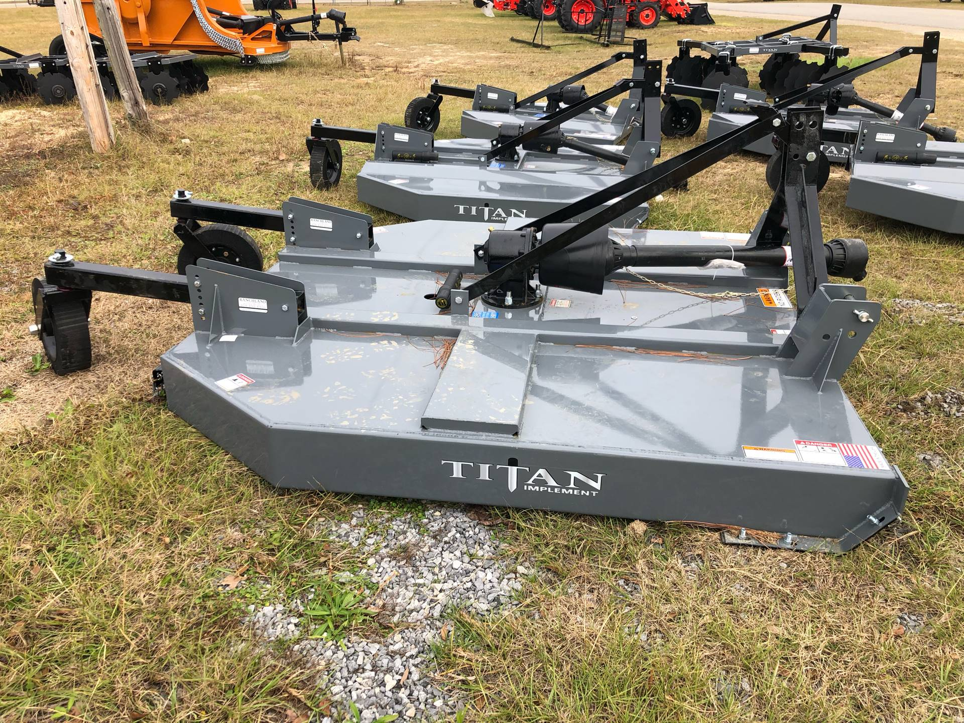 2021 Titan Implement 7' HD Cutter w/ Chains in Saucier, Mississippi - Photo 6