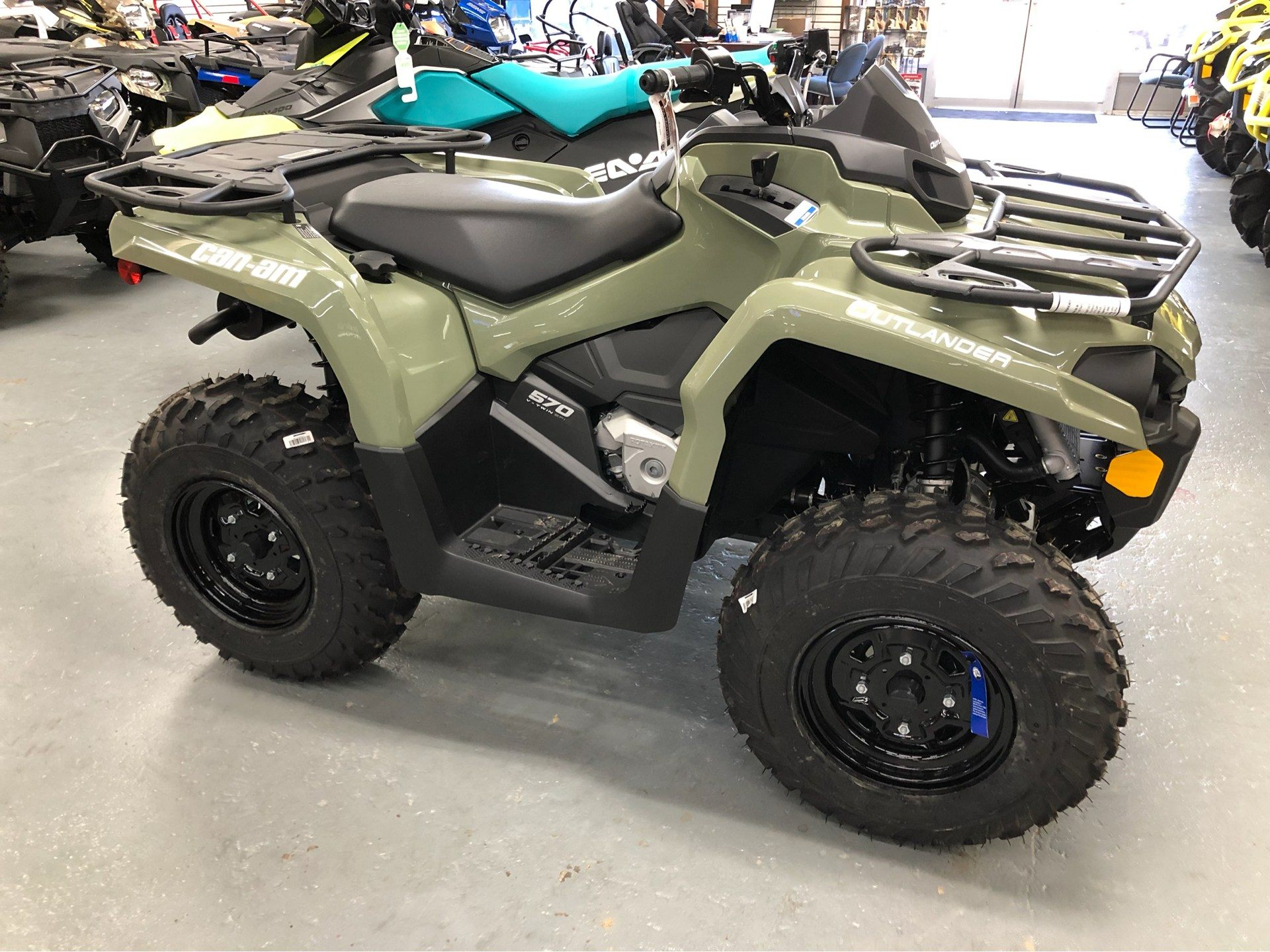 2019 Can-Am Outlander 570 in Saucier, Mississippi - Photo 3