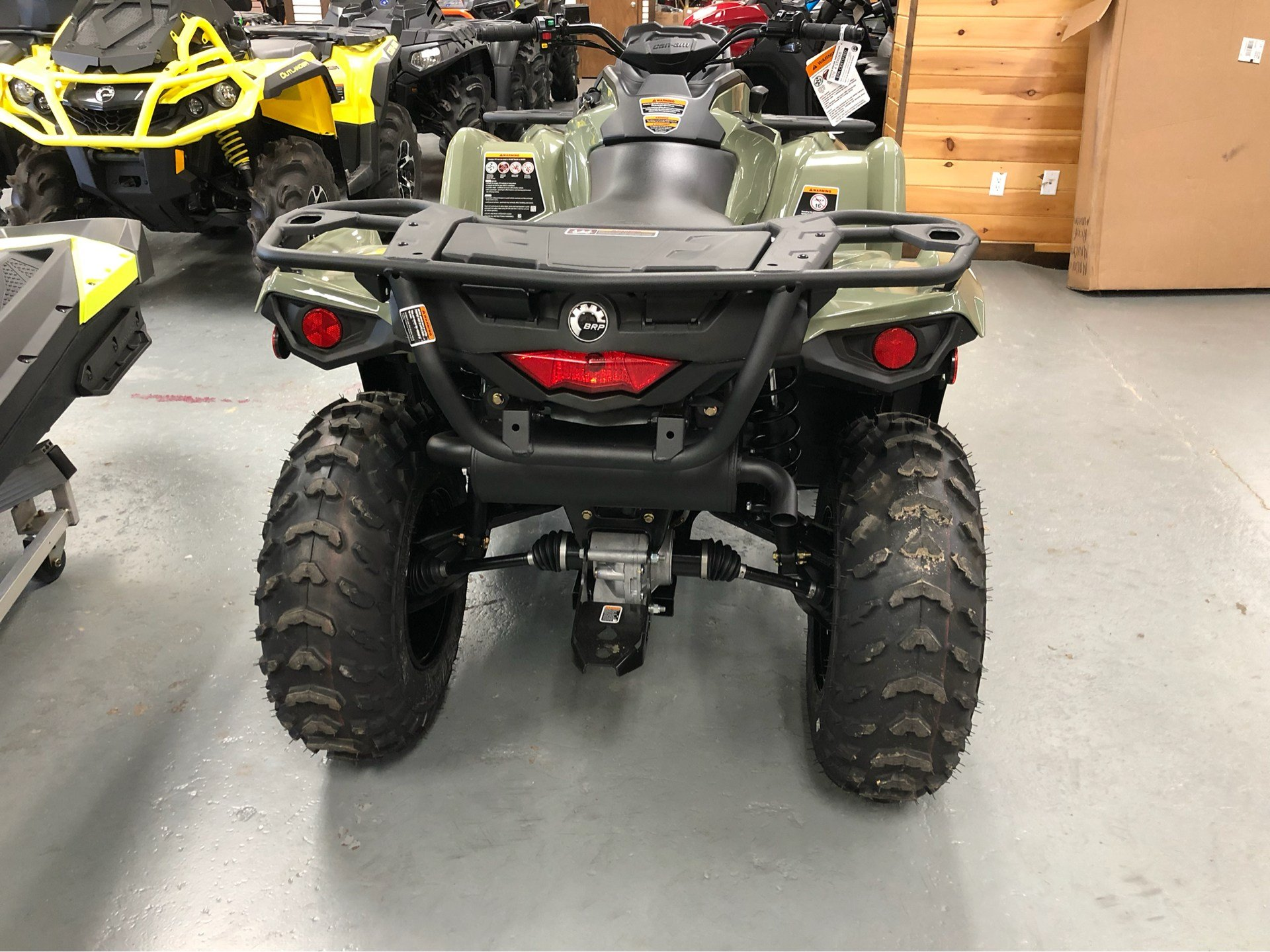 2019 Can-Am Outlander 570 in Saucier, Mississippi