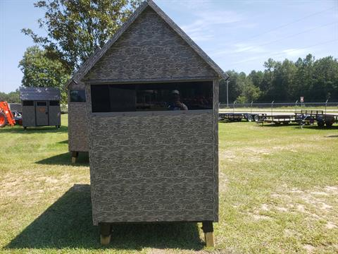 2022 The Antler Shed 4x6 Shooting House w/ Sliding Windows in Saucier, Mississippi - Photo 2