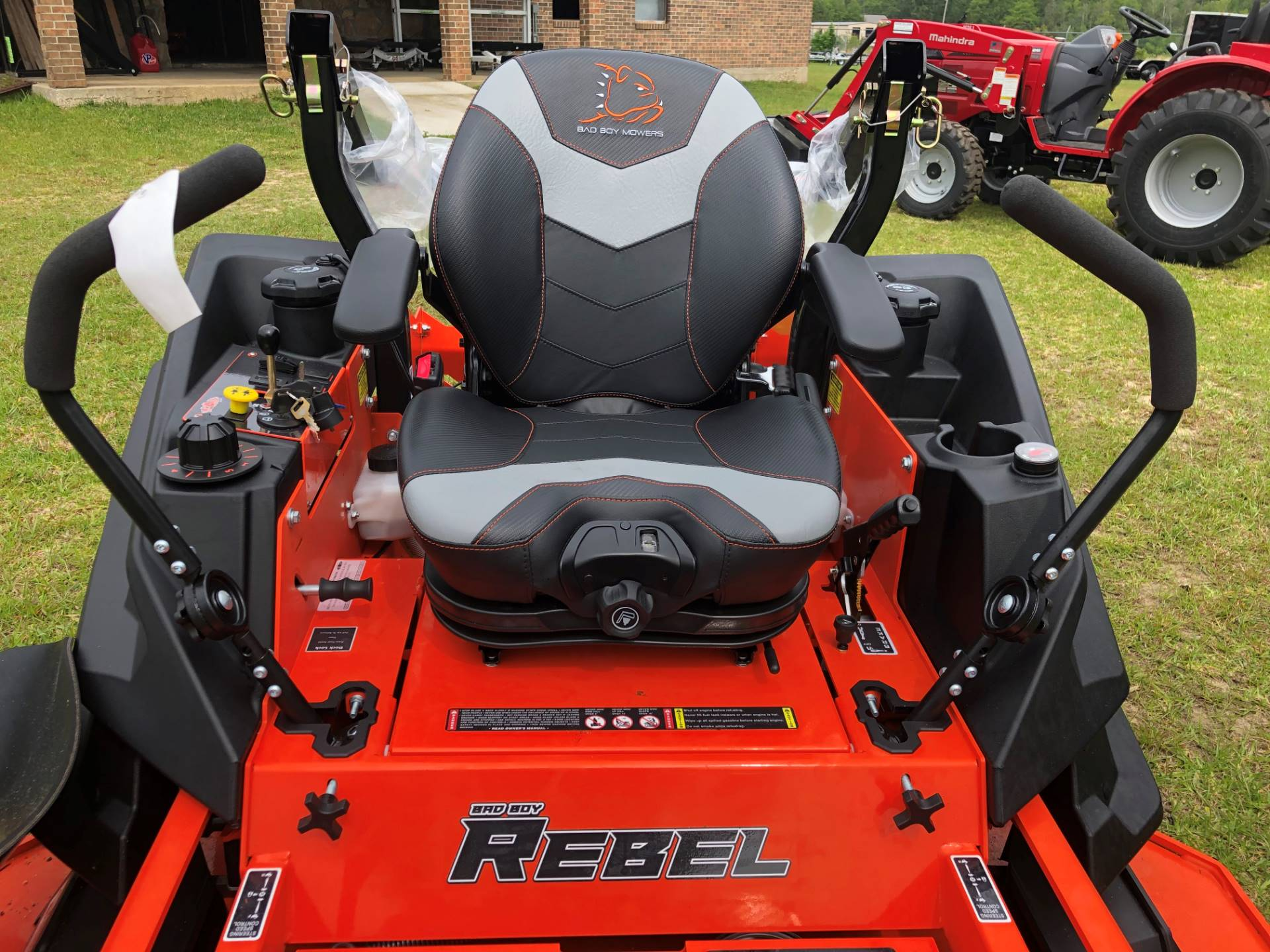 "2019 Bad Boy Mowers Rebel 61"" with 35hp Kawasaki w/ Susp Seat in Saucier, Mississippi - Photo 4"