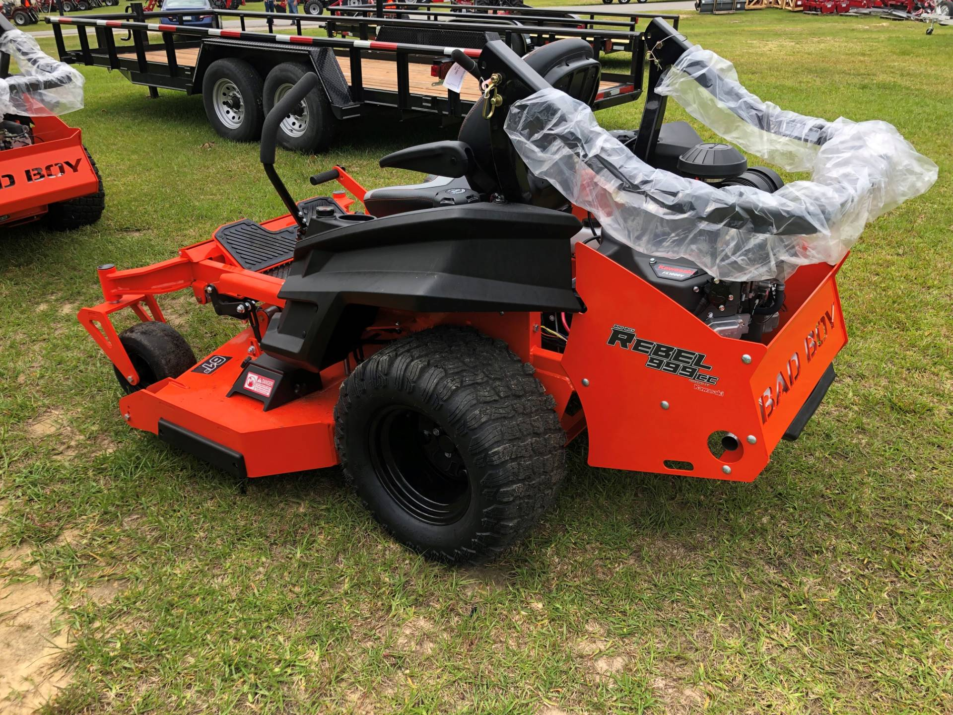 "2019 Bad Boy Mowers Rebel 61"" with 35hp Kawasaki w/ Susp Seat in Saucier, Mississippi - Photo 14"
