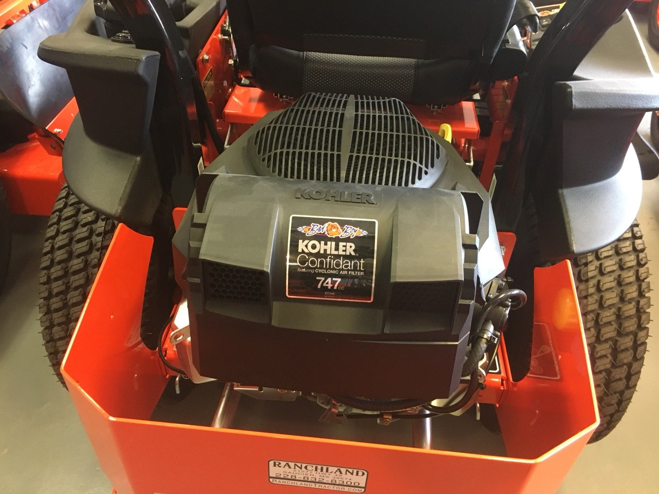 "2018 Bad Boy Mowers Maverick 48"" with Kohler - BMV48ZT740 in Saucier, Mississippi"